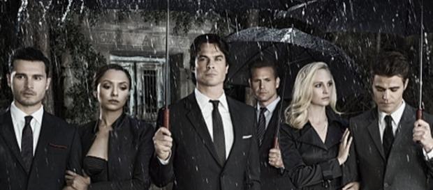 "Foto promocial da oitava temporada de ""The Vampire Diaries"""