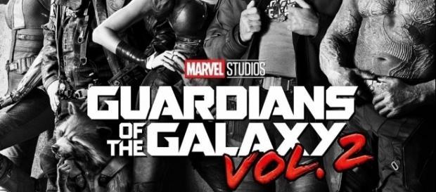 La locandina del film I Guardiani della Galassia 2