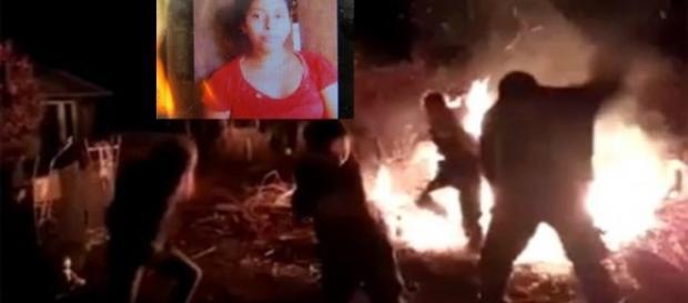 Mulher é queimada durante ritual religioso