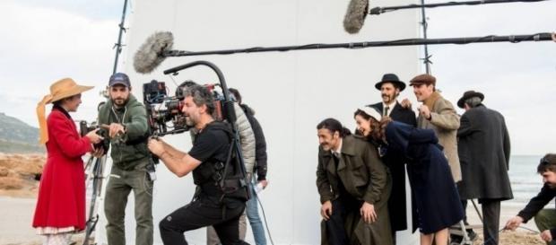 Set de rodaje de la tercera temporada de El Ministerio del Tiempo | Periódico EL PAÍS
