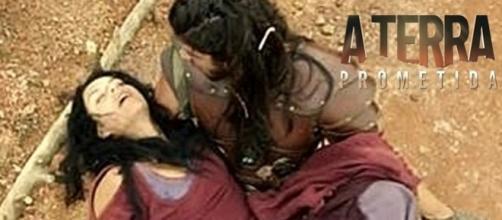 'A Terra Prometida': Samara morreu nos braços de Zaqueu