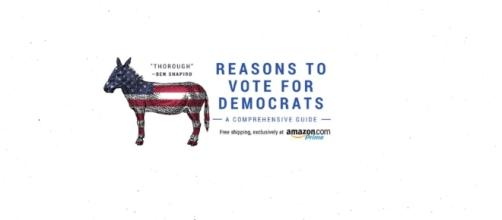 Blank Book Is Amazon Best Seller - 'Reasons To Vote For Democrats' - Amazon.com