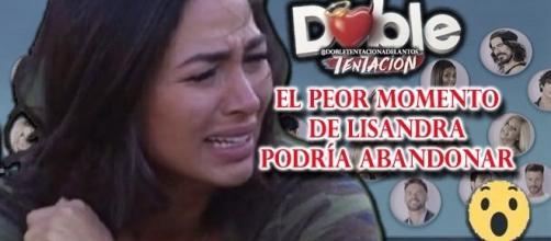 El peor momento de Lisandra Silva