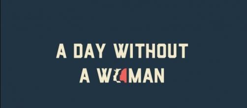 Immagine promozionale per #Adaywithoutawoman