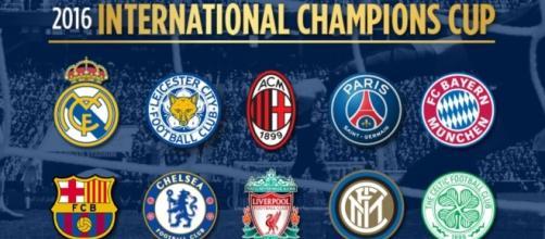 International Champions Cup 2017, Inter contro Chelsea e Bayern Monaco