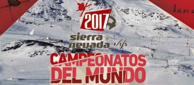 Cartel oficial del Campeonato del Mundo en Sierra Nevada