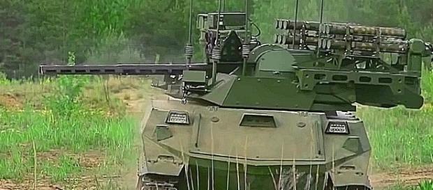 Der robotisierte Uran-Kampfpanzer wurde bereits in Dienst gestellt.