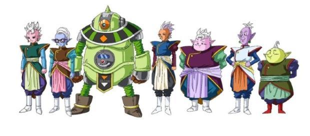 Estos son parte de los nuevos dioses y Kaioshin presentados en Dragon Ball Super