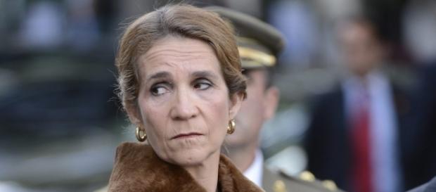 La Infanta Elena en un acto oficial