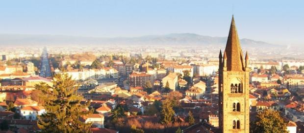 Una veduta della città di Rivoli