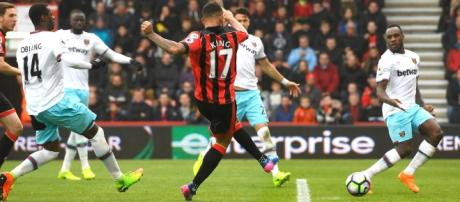 Josh King has scored eight goals in his last seven games. Photo: Getty Images
