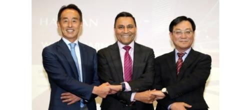 Courtesy: Business Korea; The owners of Samsung and Herman International have joined hands together.