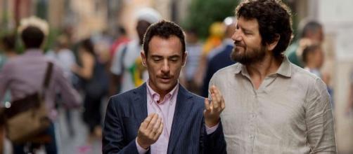 Germano e De Luigi nella commedia 'Questione di Karma'