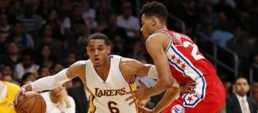 Los Angeles Lakers - Philadelphia 76ers, Photo credit: Spectrum SportsNet (SpectrumSN) Twitter