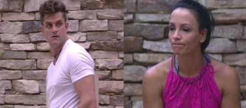Marcos e Ilmar reprovam atitude de Marinalva (foto: reprodução TV Globo)