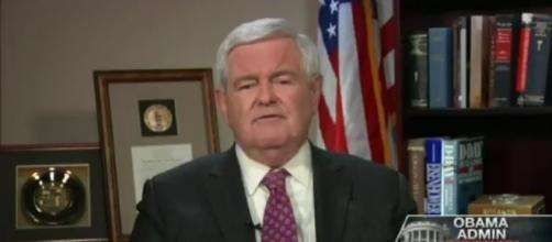Newt Gingrich on Fox News, via Twitter