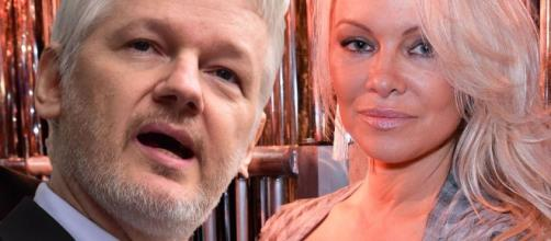 Pamela Anderson sparks rumours she's dating Wikileaks founder ... - mirror.co.uk
