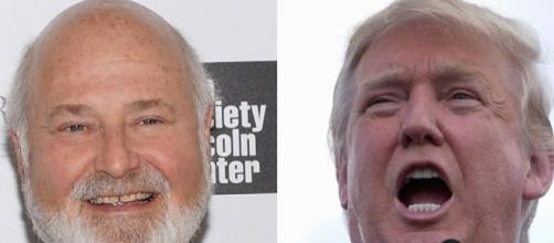 Rob Reiner and Donald Trump stock