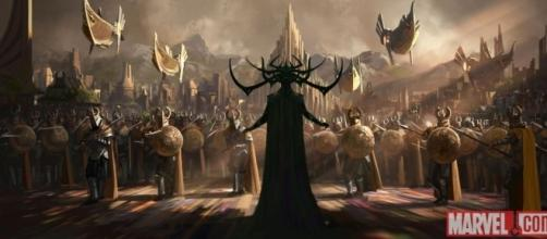 Thor Ragnarok's Cate Blanchett on the Villainous Hela | Collider - collider.com