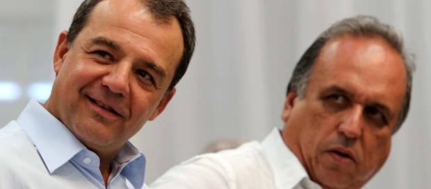 Ex- diretor da Petrobras e delator da Lava Jato denunciou Pezão (à direita) e Cabral