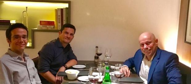 Karnal e Moro jantam em Curitiba