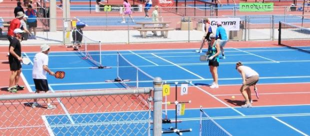 Pickleball competition can be fierce courtside- sportsdestinations.com