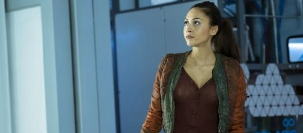 Raven (Lindsey Morgan) in 'The 100'/Photos via 'The 100'/The CW