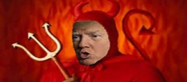 Trump es un diablo tonto pero malo