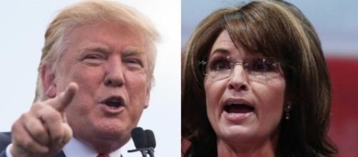 Donald Trump, Sarah Palin, via Twitter