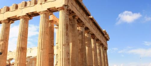 Il Partenone ad Atene, in Grecia