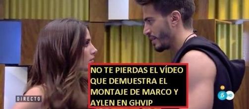 Marco y Aylén están haciendo un papel, este vídeo lo demuestra