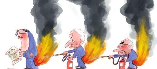 Nov pants on fire kids throw 850 | nicholsoncartoons.com.au - com.au