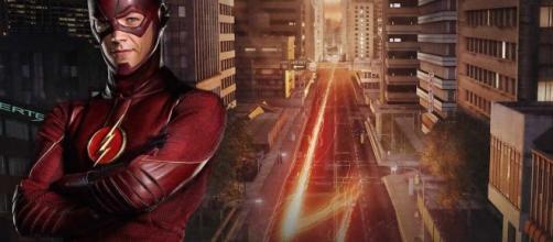 The Flash, Barry Allen, interpretato da Grant Gustin (screencrush.com)