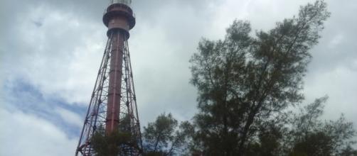 Torre do Farol com 45 metros de altura e 216 degraus