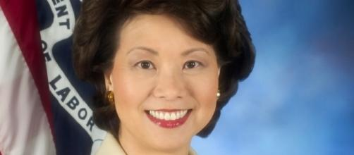 U.S. Secretary of Labor Elaine Chao / unknown, Wikimedia Commons, CC0 Public Domain