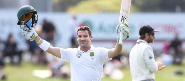 Dean Elgar helped South Africa wriggle out in the first test