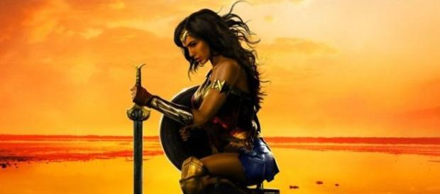 Gail Gadot As Wonder Woman In The Latest Official Poster