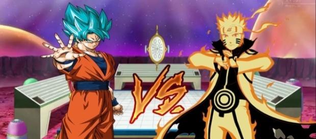 Los dos personajes más famosos del anime mundial. Naruto y Goku