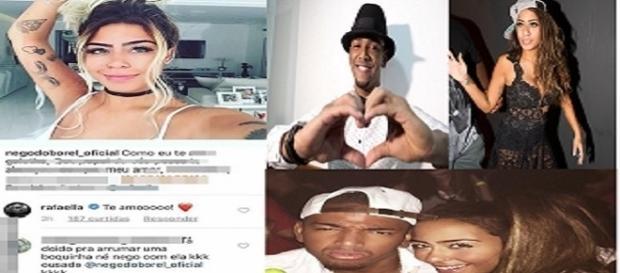 Nego do Borel perde a cabeça com seguidor no Instagram e xinga fã na web