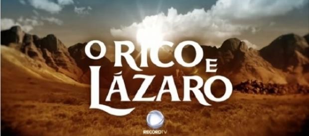 Novela começa com o rico sofrendo no inferno (Foto: Divulgação/TV Record)