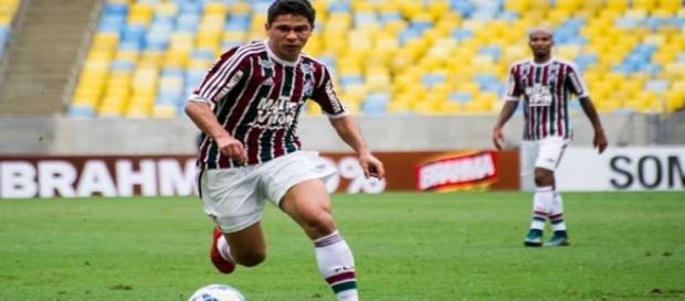 Sem chances no Flu, Osvaldo pode se transferir para o Corinthians (Foto: Lancepress)