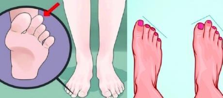 Curiosidade sobre os dedos do pé