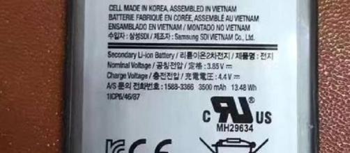 Batteria da 3,500 mAH per Galaxy S8 Plus