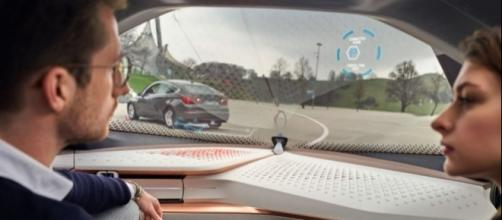 BMW iNext self-driving car, photo credit to BMW Blog http://www.bmwblog.com/2016/07/04/bmw-strategy-one-next-shaping-future/