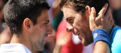 Novak Djokovic Vs Juan Martin Del Potro Head To Head   STEVE G TENNIS - stevegtennis.com
