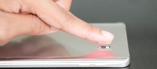 Samsung Galaxy S8: lettore di impronte digitali posteriore.
