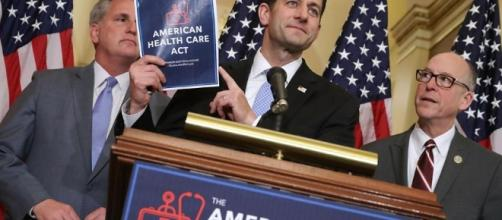 Speaker Paul Ryan defended the House Republican health care plan ... - bostonglobe.com