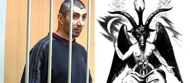 """Arsen Bayrambekov, polițistul satanist care a ucis șase oameni ai străzii pentru a-i transforma în """"sclavi zombi"""" - Foto: CEN/E1.ru - Wikimedia"""