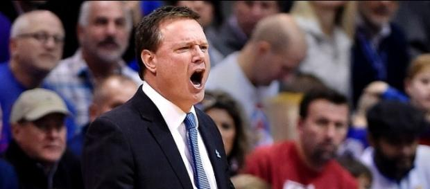 Bill Self, the head coach of the Kansas Jayhawks - espn.com