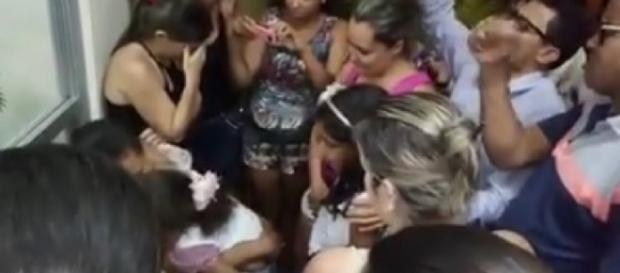 Criança desaparecida é encontrada pela polícia e suspeito foi preso em flagrante.